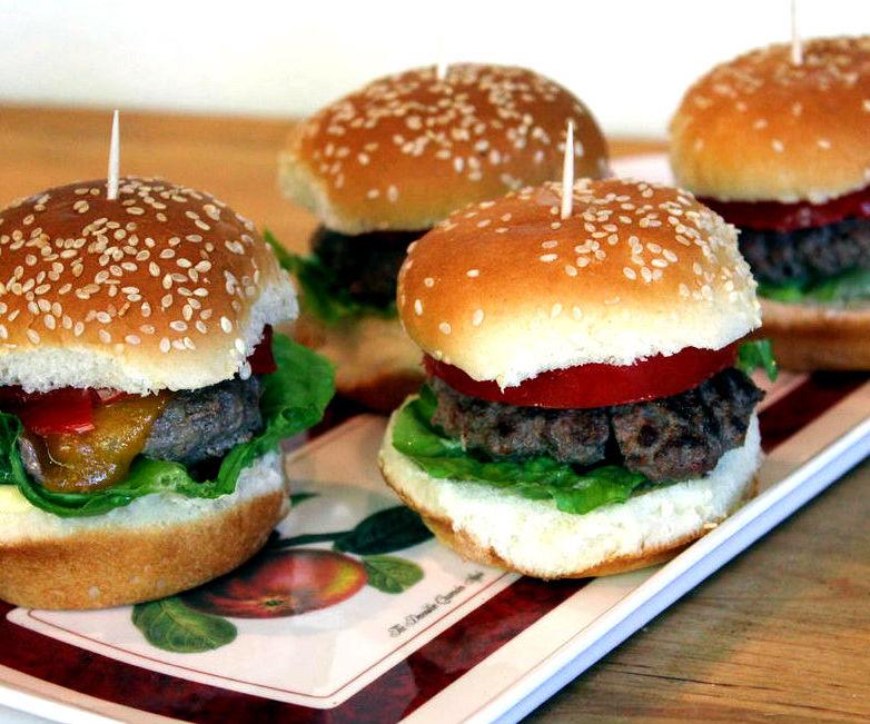 Mini Hamburger Sliders