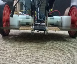 World's Simplest Line Following Robot
