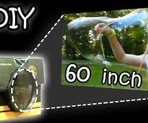 Smartphone DIY Projector