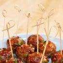 Cheesy  Goodnessy Meatballs