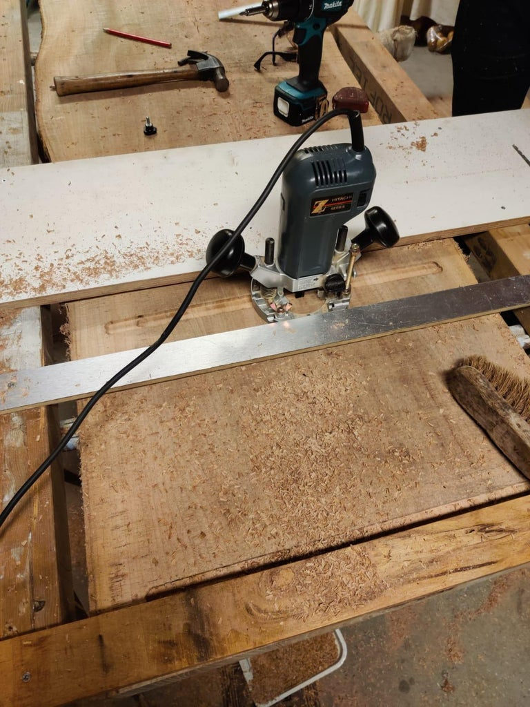 Installing the Mild Steel Bars
