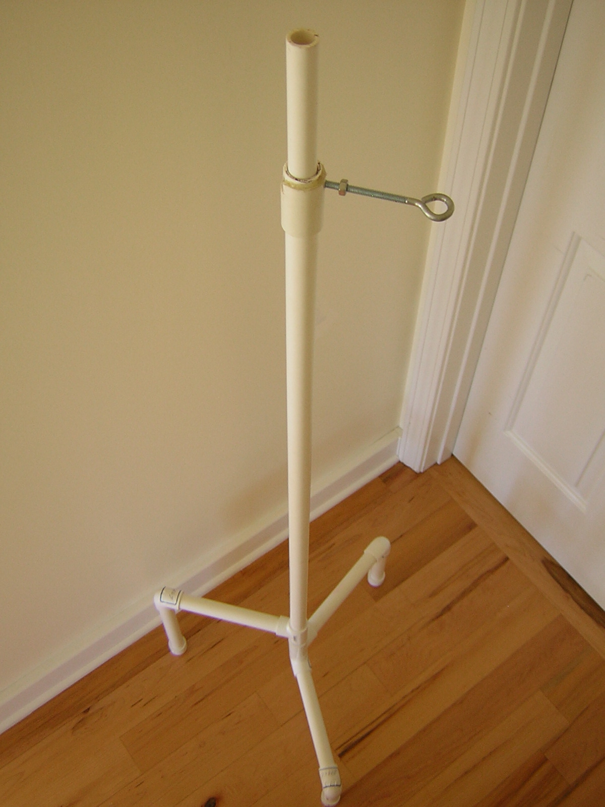 The $10 PVC C-stand