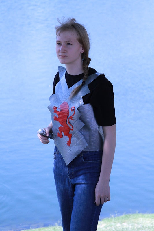 Narnian Duct Tape Vest