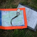 Duct Tape Map Case