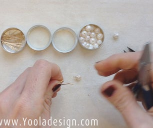 Pearl Earrings in Minutes - Girl With a Pearl Earring