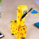 Giraffe-Shaped Temperature-Controlled & Multi-level Desk Fan With Nano