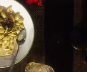 Conchigliette (Little Seashells) in Clam Carbonara Sauce