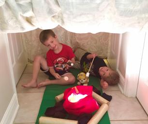 Hallway Play Tent @ Camp Oma