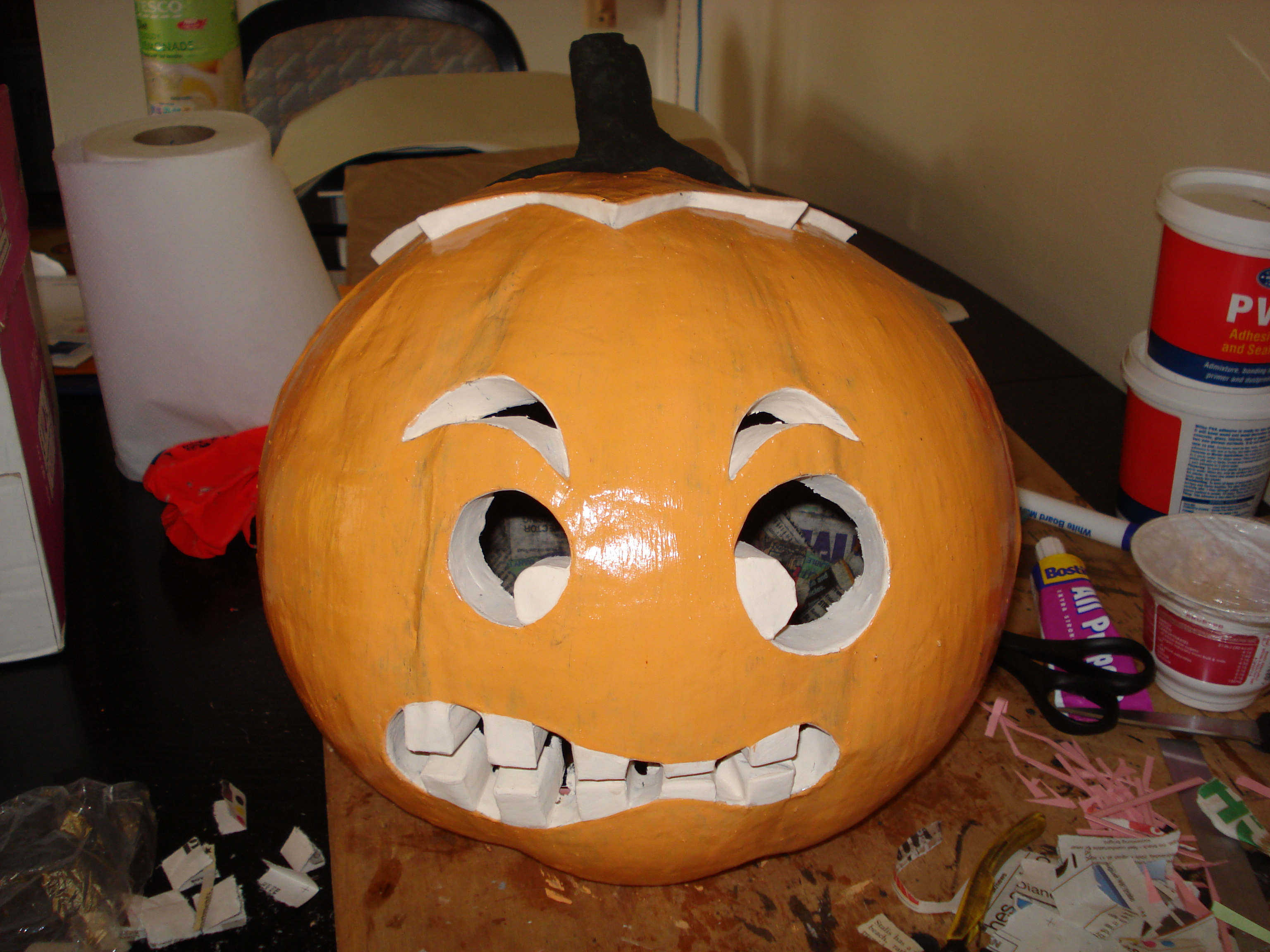 Pumpkin Head Halloween Costume