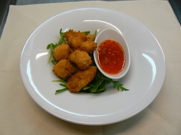 Chicken Nuggets in Chili Sauce
