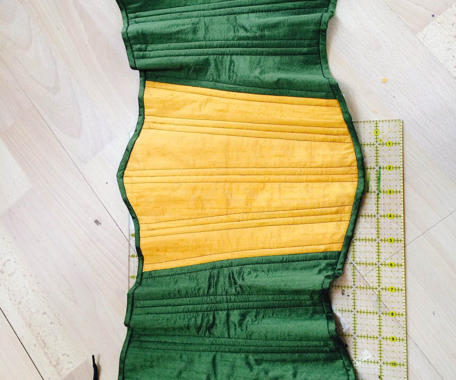 Two-Layer Underbust Corset Construction Tutorial