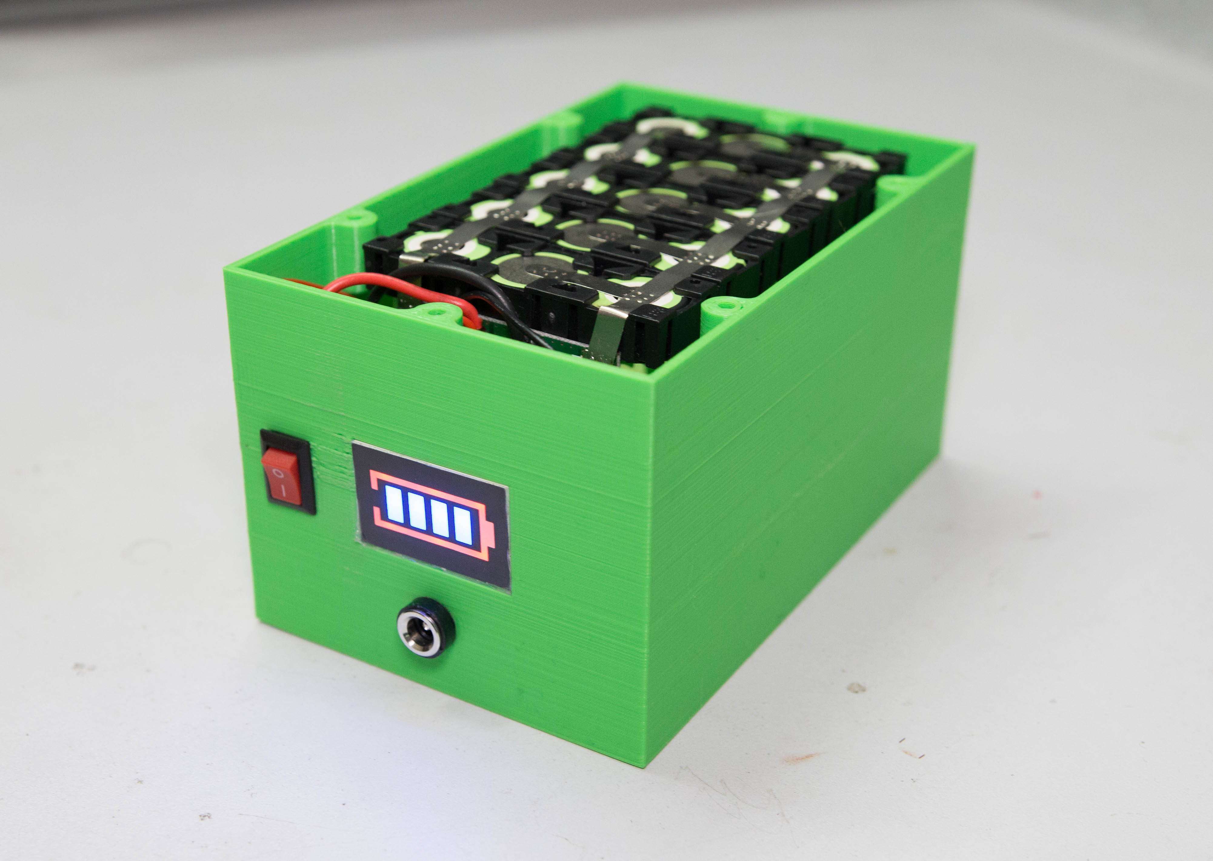 Diy Professional 18650 Battery Pack 12 Steps With Pictures Instructables