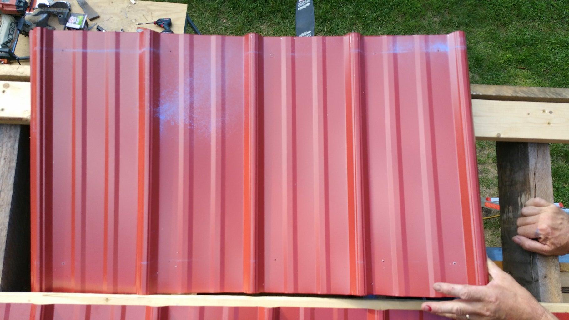 Installing Metal Roofing