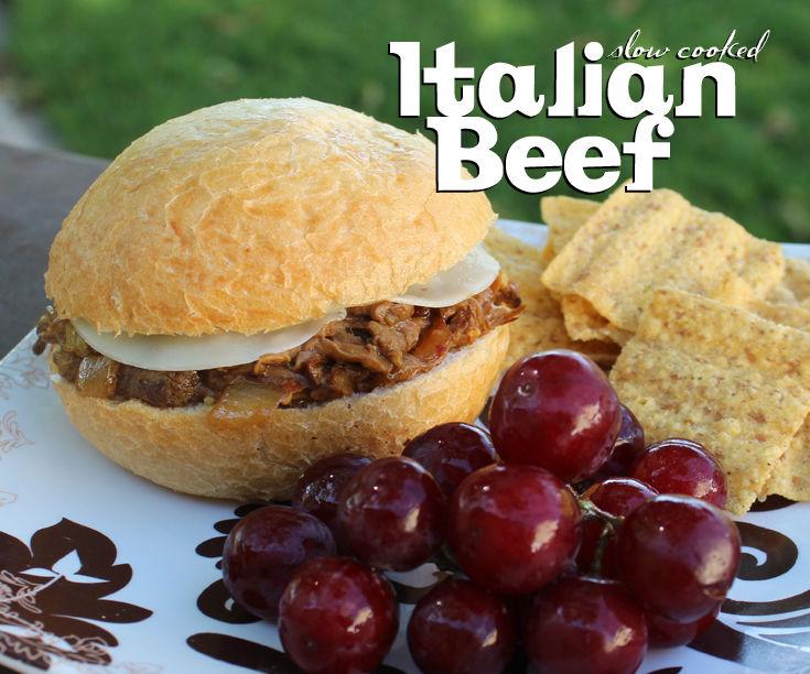 Slow Cooked Italian Beef!