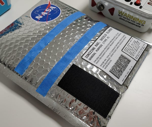 Cosmic Radiation Shielding Plate for Space!