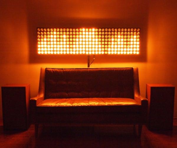 Sound Reactive Light Bulb Displays + Stranger Things...