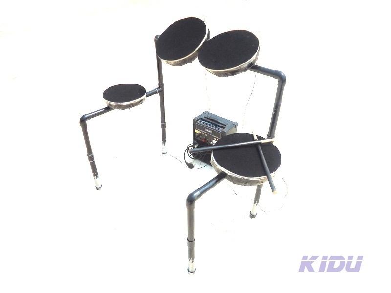 HOW TO MAKE AN ELECTRONIC DRUM.(not a MIDI sampler)   aka  KIDU