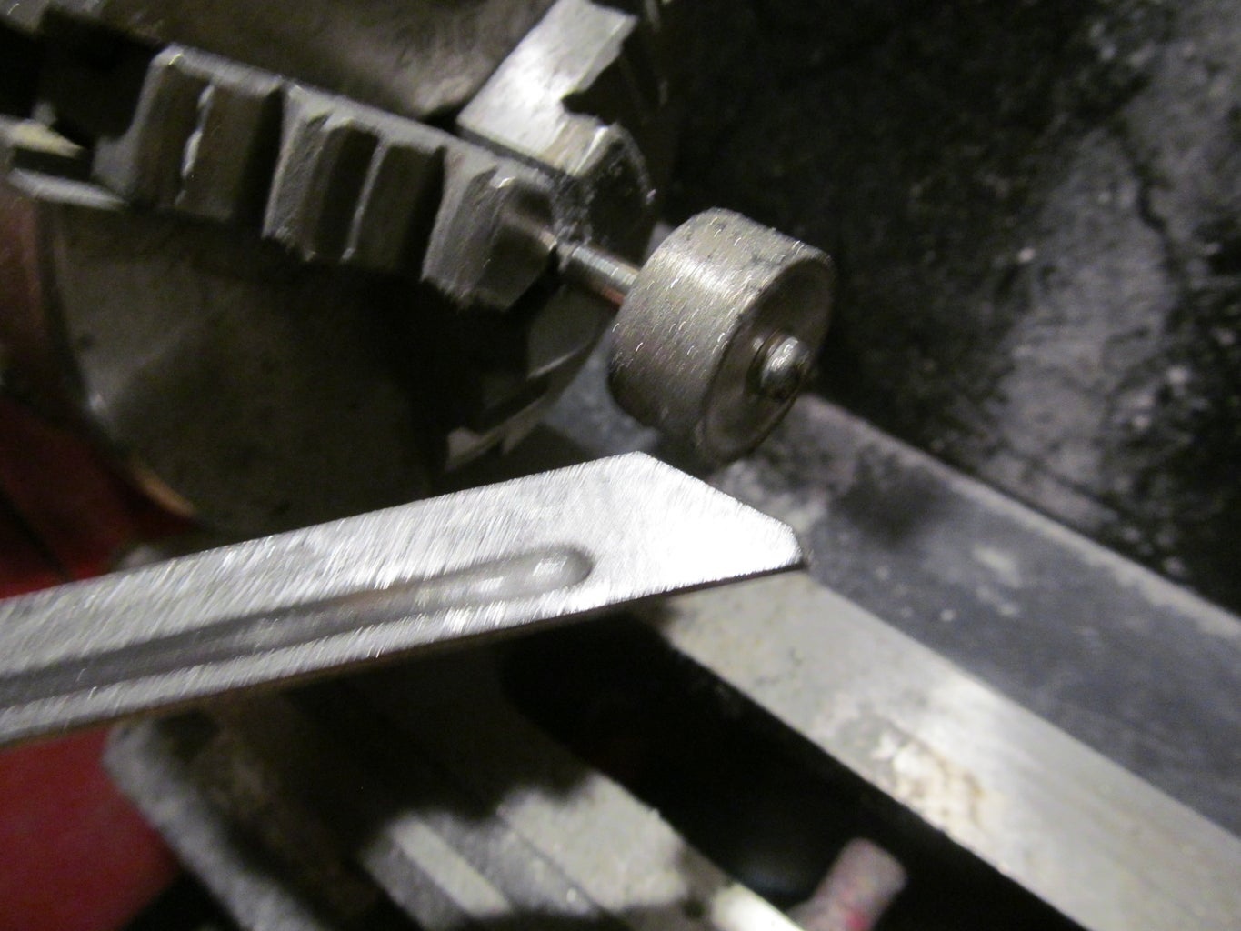 Shaping the Blade