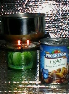 Cooking With 3 Candle Flames Instructable Has Been Updated