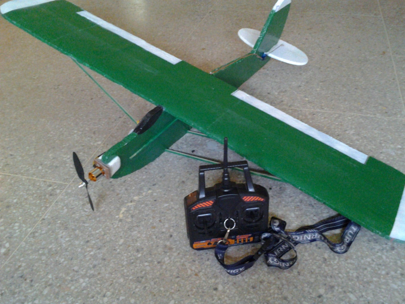 """Build Your Own Big Rc Plane """" Sport Trainer """" the Best Plane for Biginner !!"""