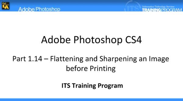 Printing: Adobe Photoshop (1.14)
