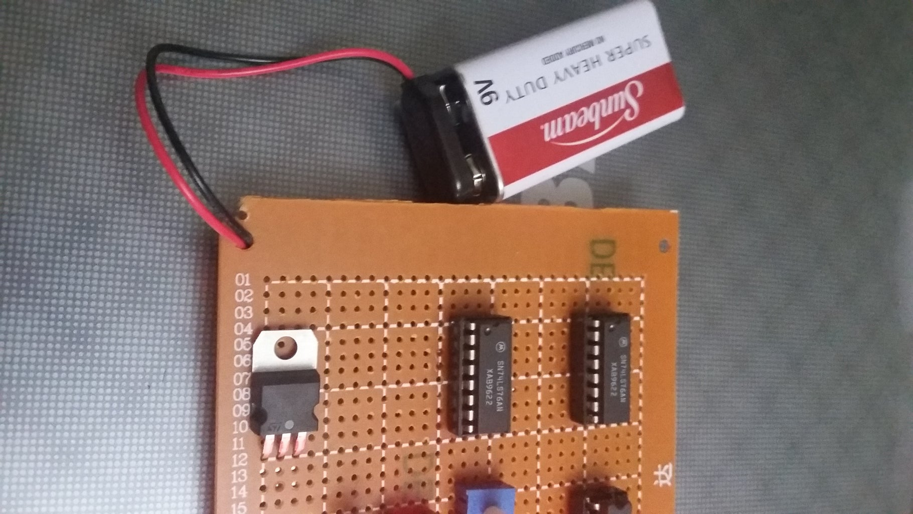 Install the IC & Battery