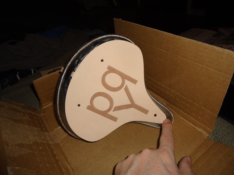 Laser Cut Leather Seat...