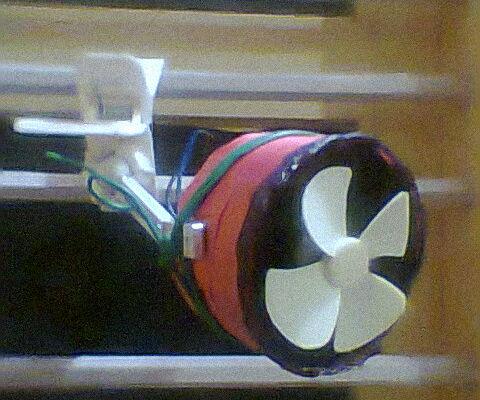 Nano Solar Fan