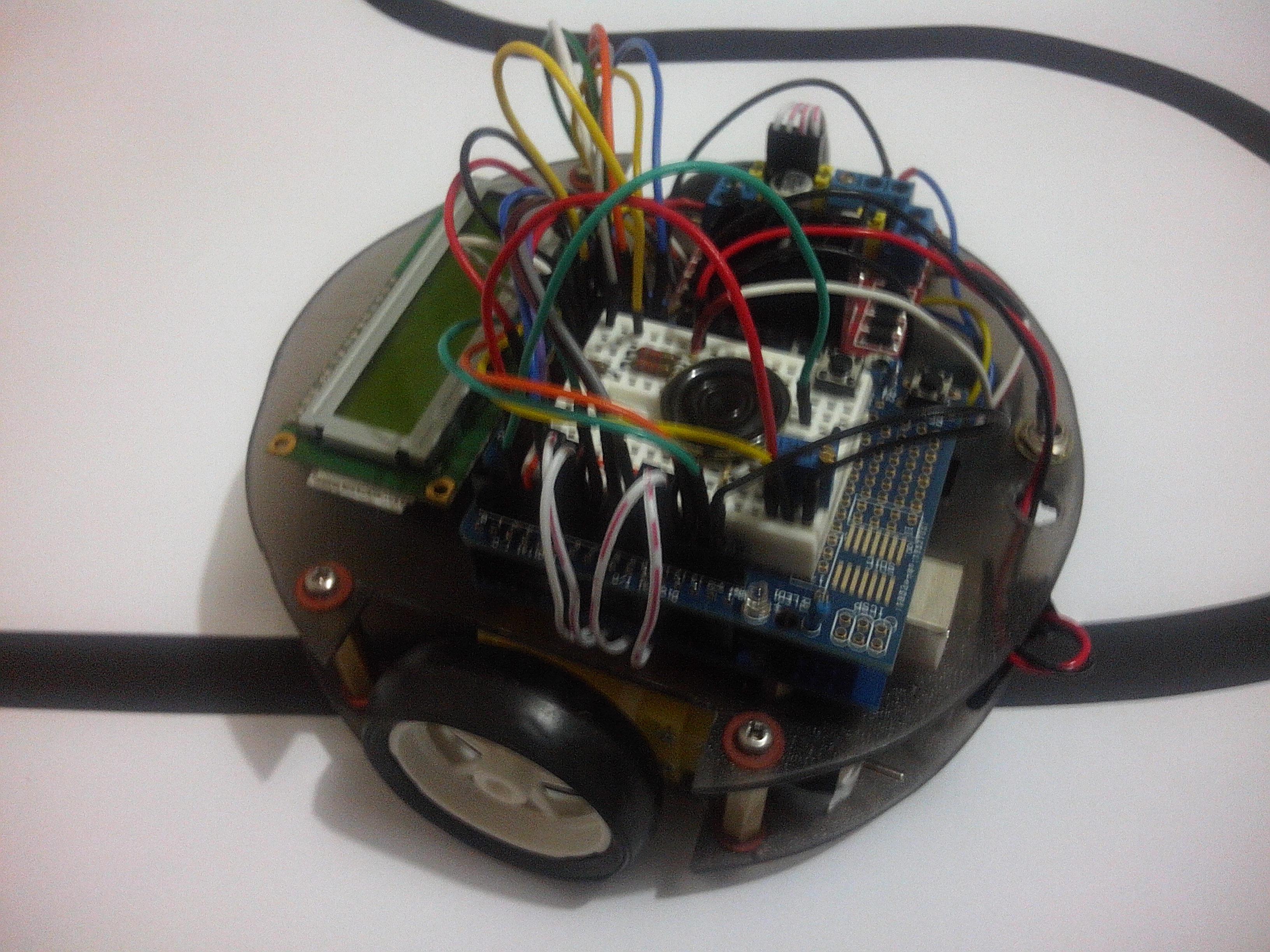 LINUSBot - Line Follower Robot