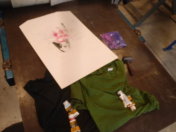 How to Print a T-shirt on Printing Press