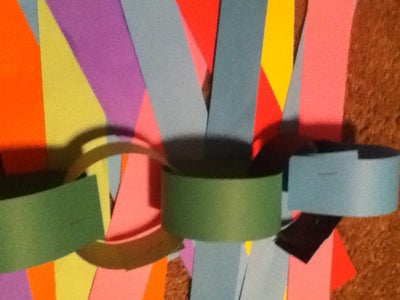 Pi Day Paper Chain!!