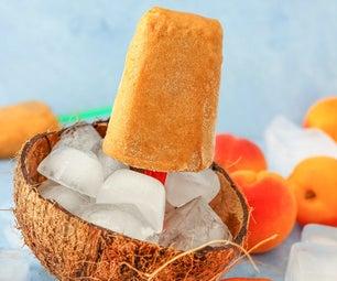Apricot Coconut Popsicles