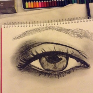 How to Draw the Female Eye