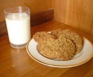 Spicy Ginger and Oatmeal Cookies