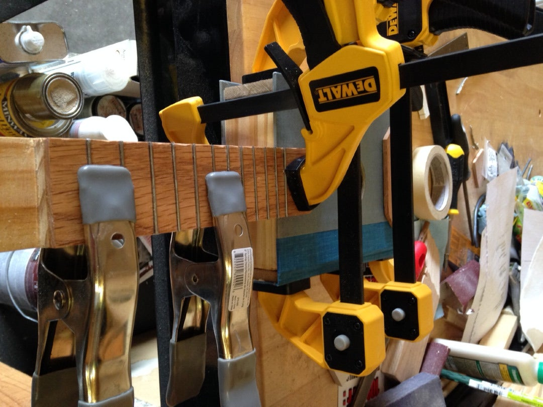 Attaching the Fretboard