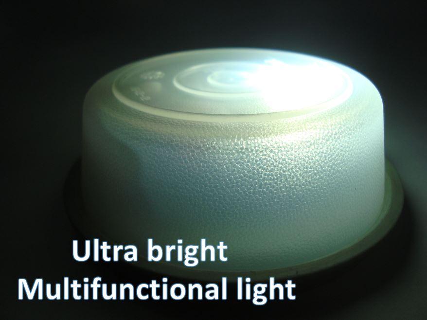 Ultra-bright Emergency Waterproof Torch DIY (Rechargeble)