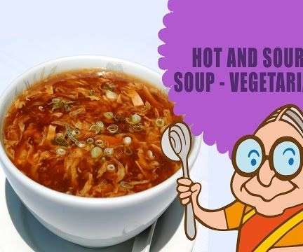 Thai Vegetable Hot & Sour Soup - Relief From Cold & Stuffy Nose