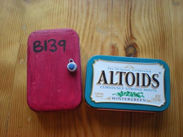 Altoids Memory Tin
