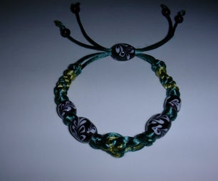 Creating a Custom Chinese Knot Strand With Hand Made Glass Beads