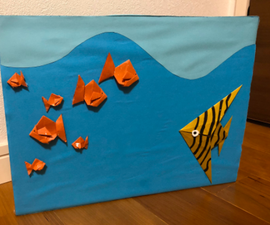 Making Aquarium With Origami
