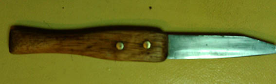 How to Make a Carving Knife With  Limited Tools