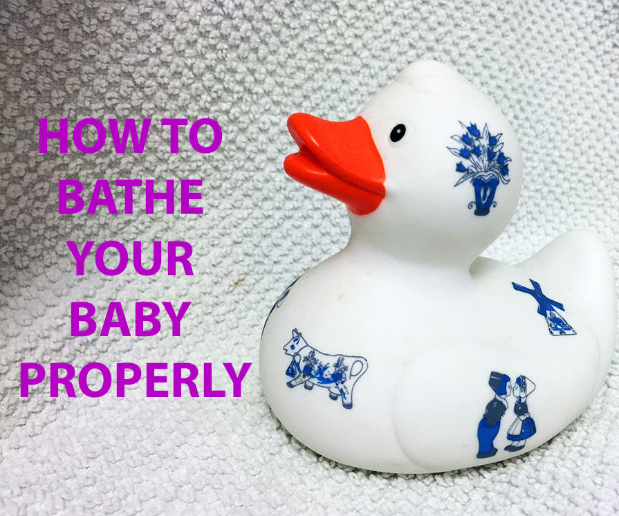 How to Bathe Your Baby Properly
