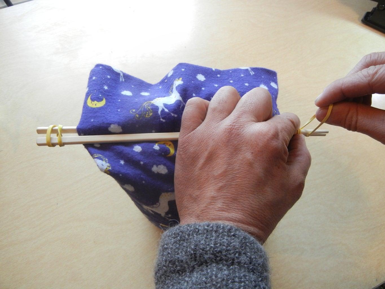 Step 9 the Chopstick Trick