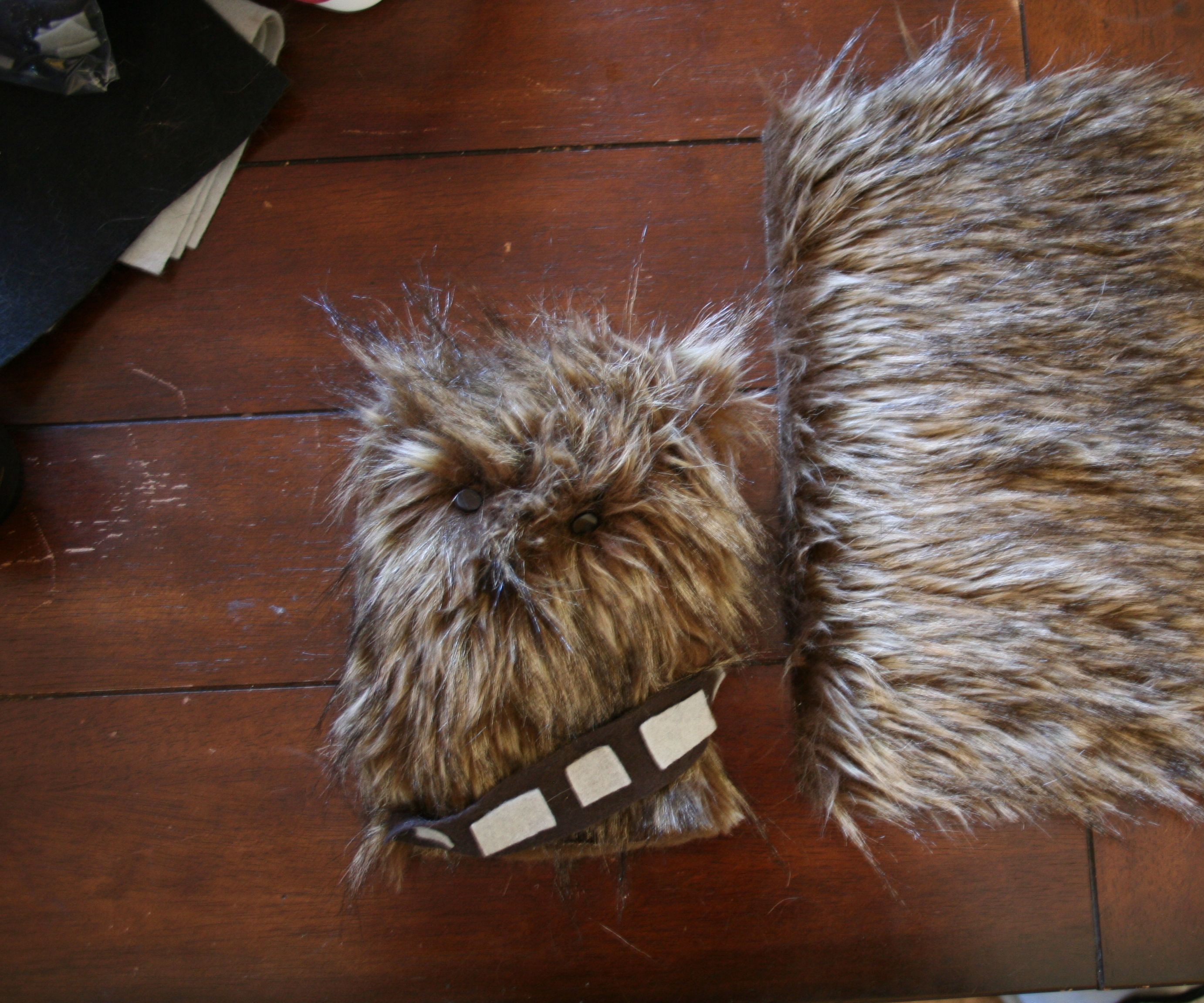 Make a Wookiee Cushion with sound effects
