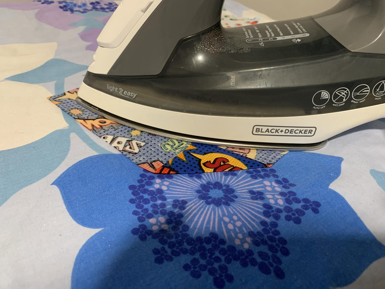 Ironing the Fabric
