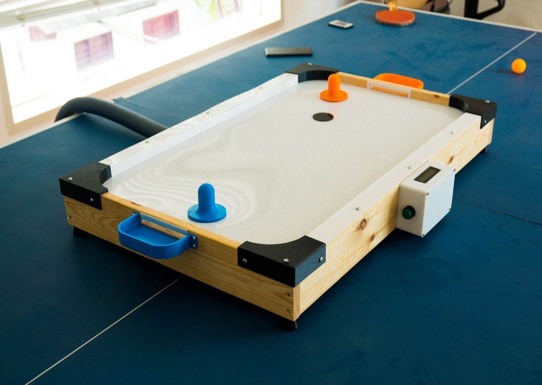 DIY Low Cost Air Hockey Table