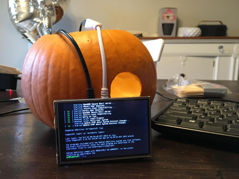 Step 1: Pick Your Pumpkin Victim