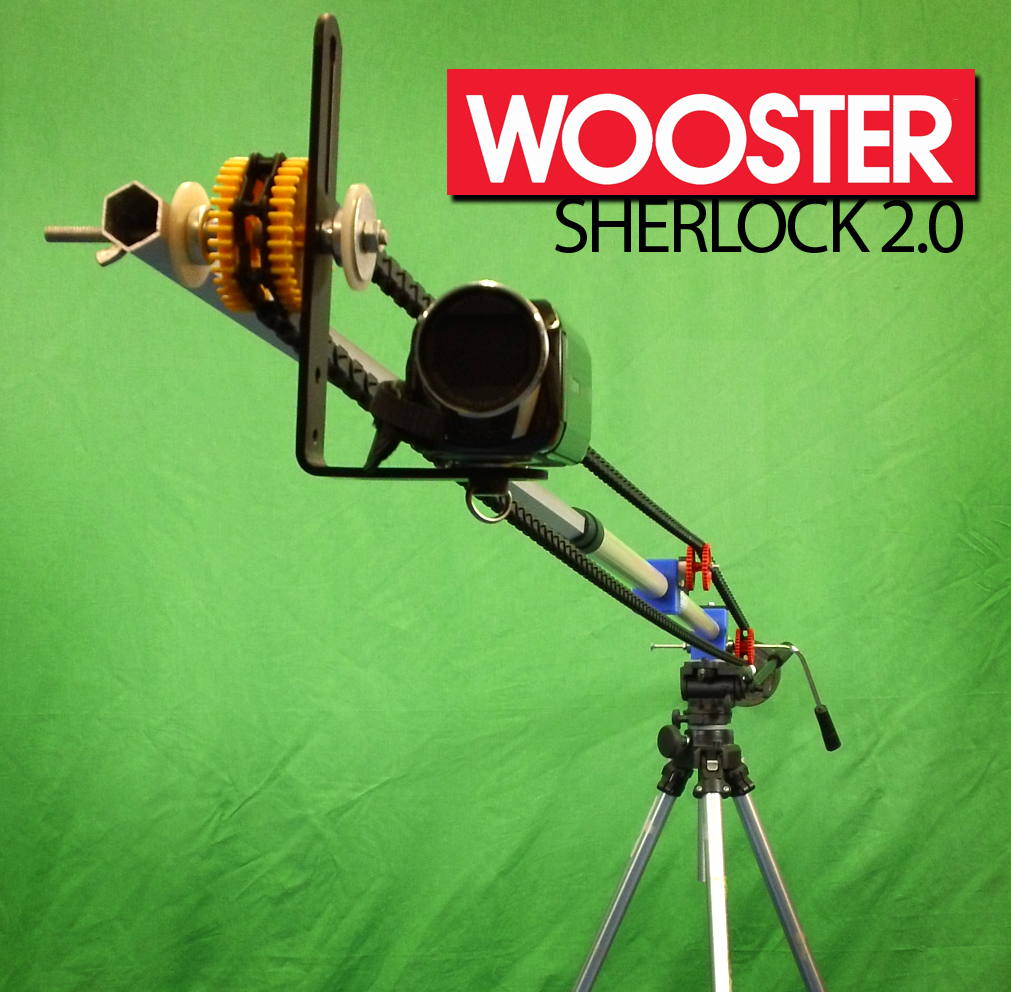 DIY Camera Crane - The Wooster Sherlock 2.0 with Manual Tilt