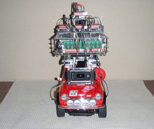 Car No. 05 Altered Programmed Automatic Driving Car (Full Chocolate Version)