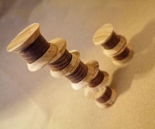 The Bobbins of Babel Stacking Puzzle (prototype)